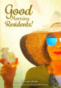 Book Cover: Good Morning, Residents!