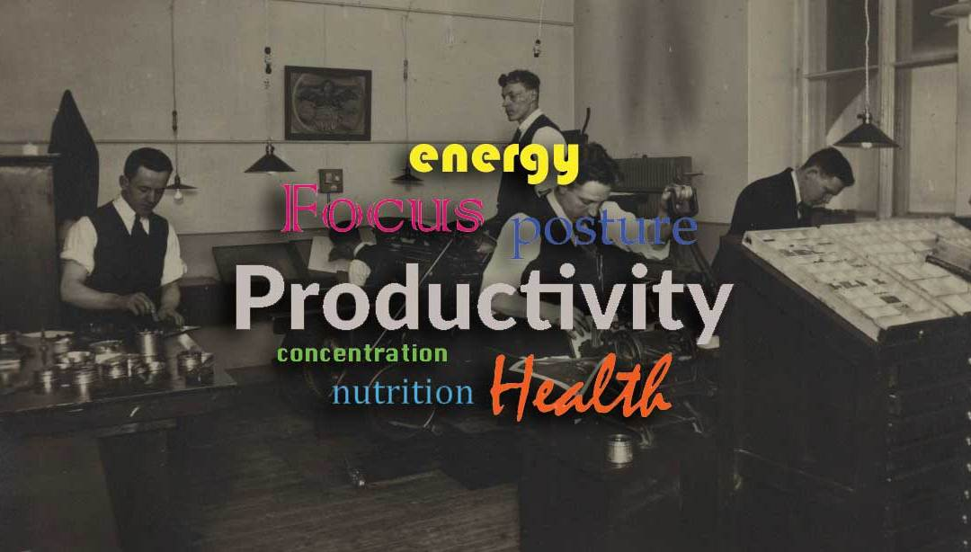 Productivity Hacks part 2 – More tips for workplace wellbeing