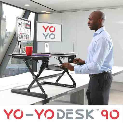 Yo-Yo 90 Sit-Stand Desk 90 height adjustable sit stand desk