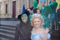 Jemma Rix (Elphaba) and Lucy Durack (Glinda)