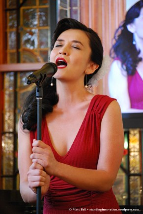 Christina O'Neill (Julie) performing Can't Help Lovin' Dat Man