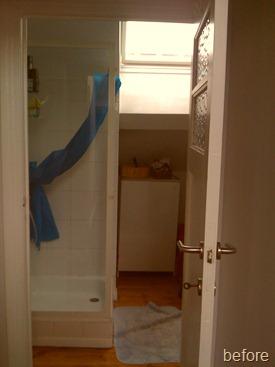 Standing Renovation Yellow Shower Room0003