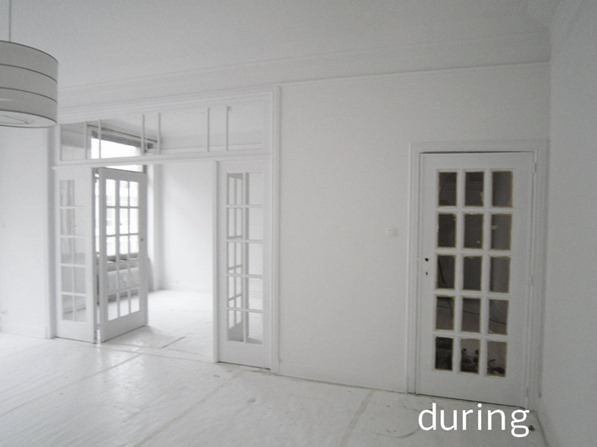 white interior renovation brussels standing renovation1