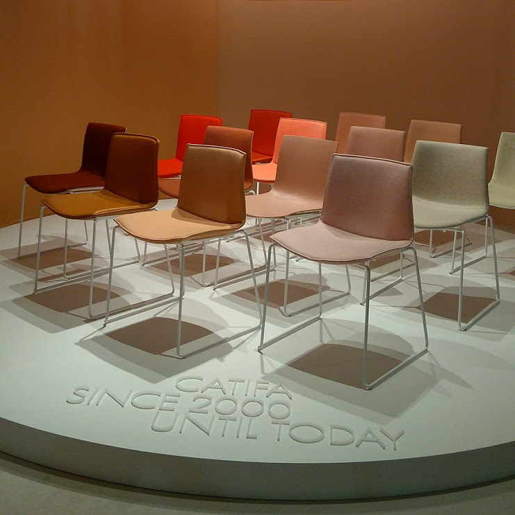 The Catifa Chair at Milan Design Week 2019