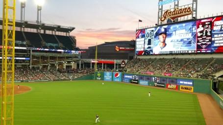 Baseball Sky over Progressive