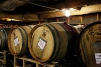 Photo of wine barrels indoors