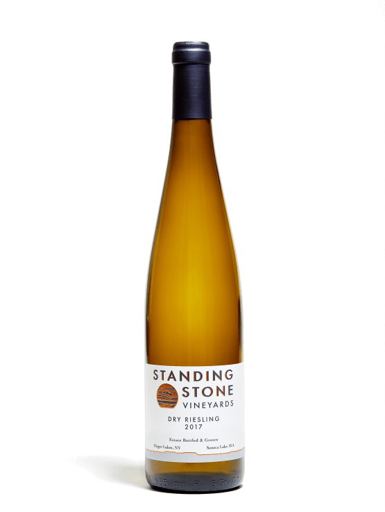 Bottle shot of Dry Riesling 2017