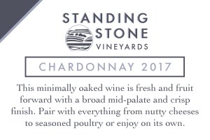Chardonnay 2017 Shelf Talker