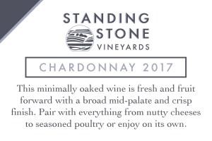Chardonnay 2017 Shelf Talker