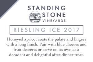 Riesling Ice 2017 Shelf Talker