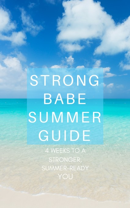 Strong Babe Summer Guide Cover