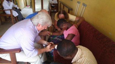 Team_Praying With Emmanuella