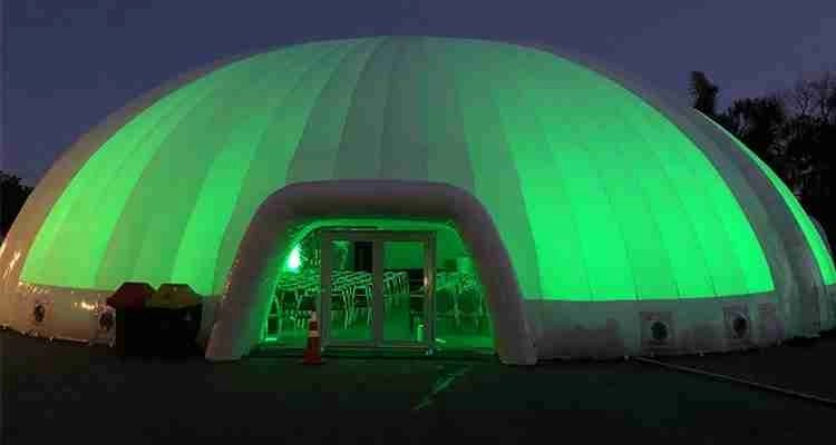 Evolution Dome supplies for New Zealand Winegrowers event