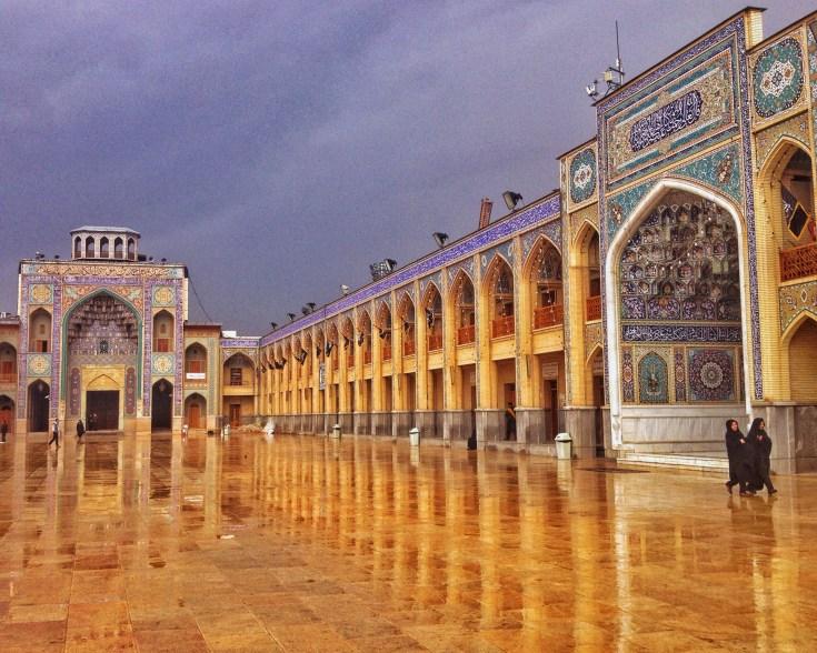 Shah-e Cheraghplein in Shiraz