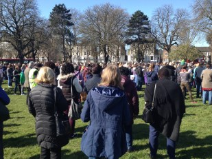 Good Friday: Haven Green service