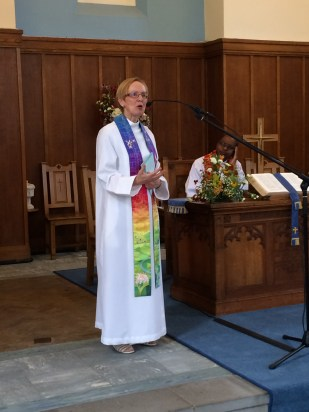 Statement by the minister-elect: Rev Sue McCoan