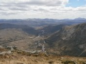 On top of Devils Point, looking South.