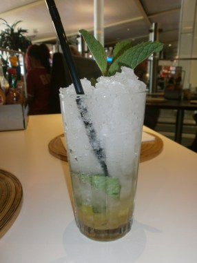 Non-alcoholic Mojito in Heathrow Airport