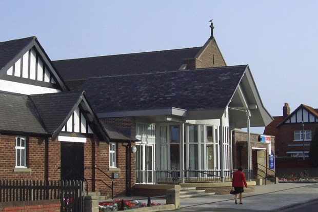 Exterior of St. Andrew's Monkseaton