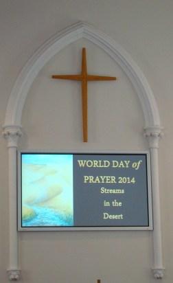 World Day of Prayer - March 7/14