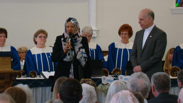 Greeting from MP Salma Zahid
