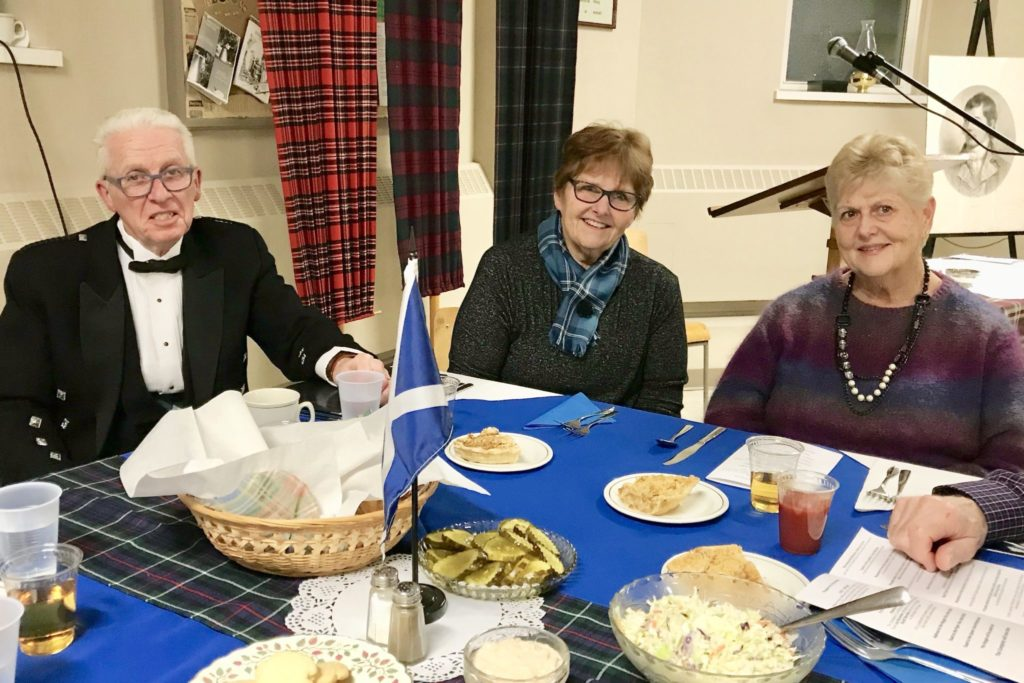 Robbie Burns Dinner