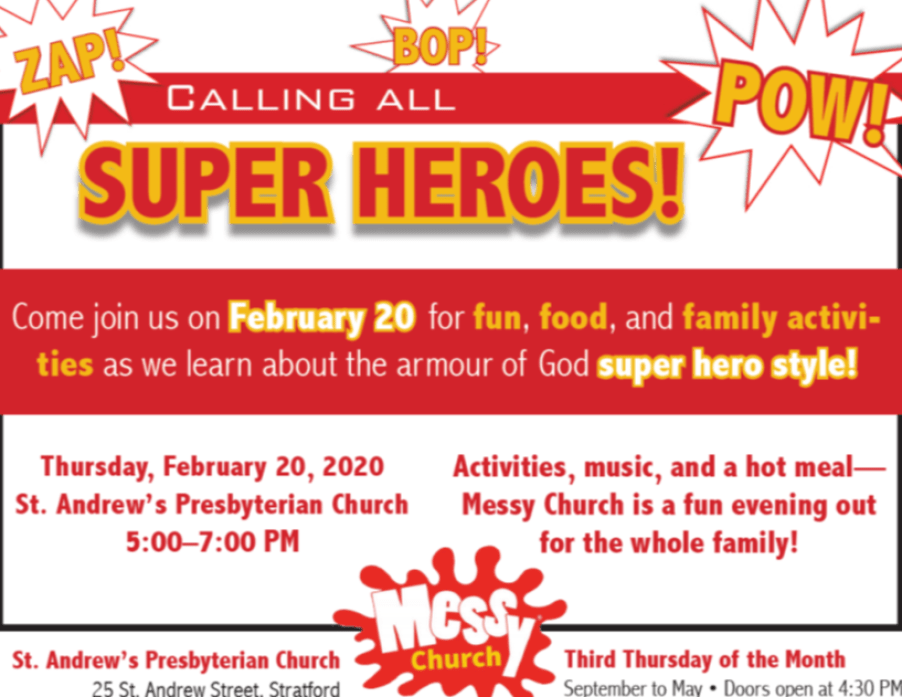 messy Church Feb