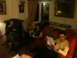 Reading groups at Morenish House