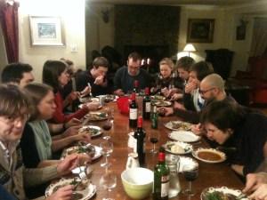 Morenish House, Loch Tay - Transnational Away Weekend, January 2014