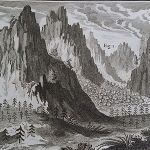 Eighteenth-century view of the Alps