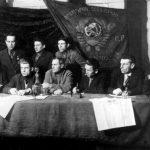 Roma activists, Soviet Union 1936