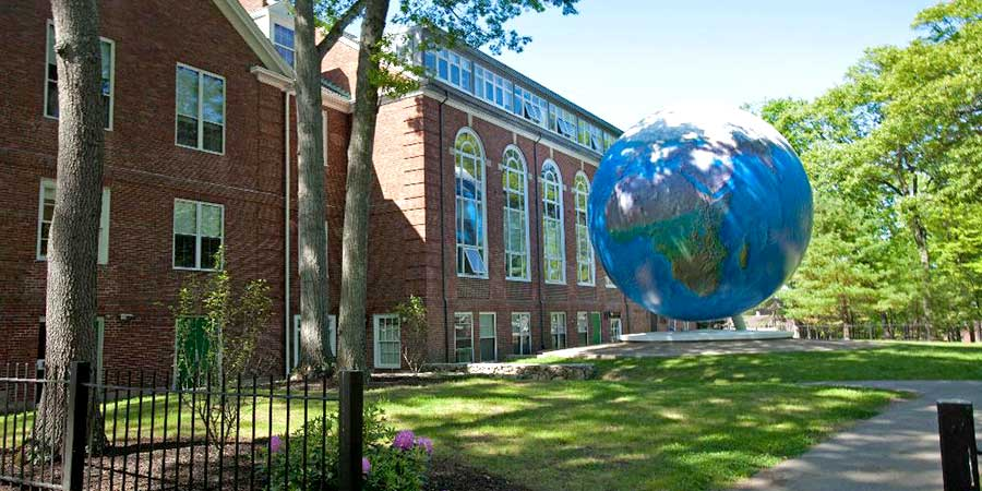 Babson College Globe