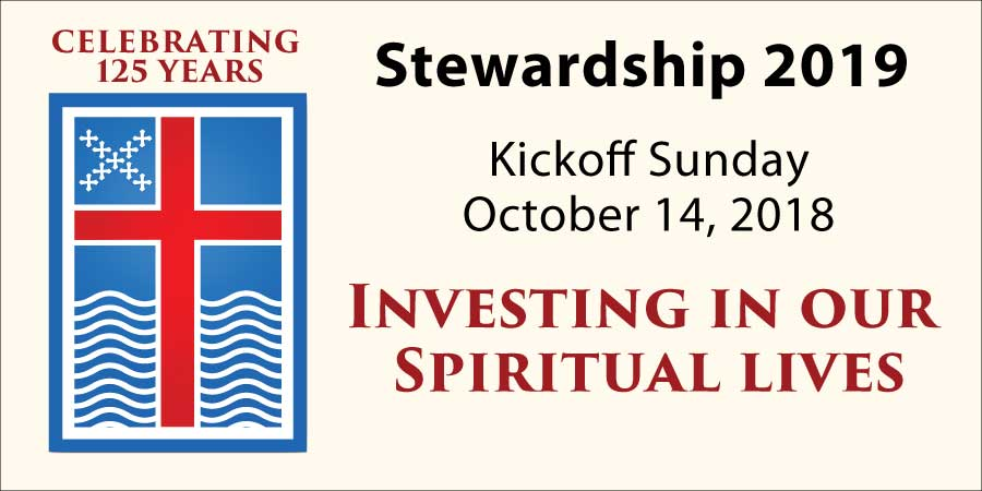 Stewardship 2019 KickOff Sunday