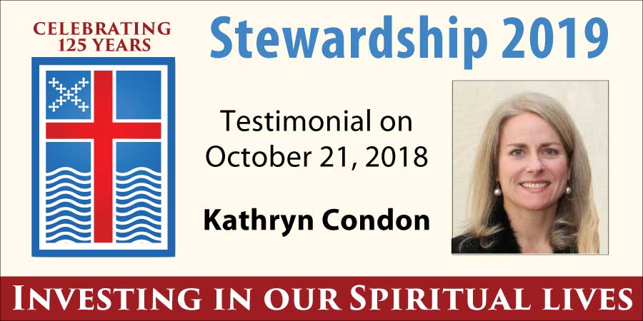 Stewardship 2019, Kathryn Condon