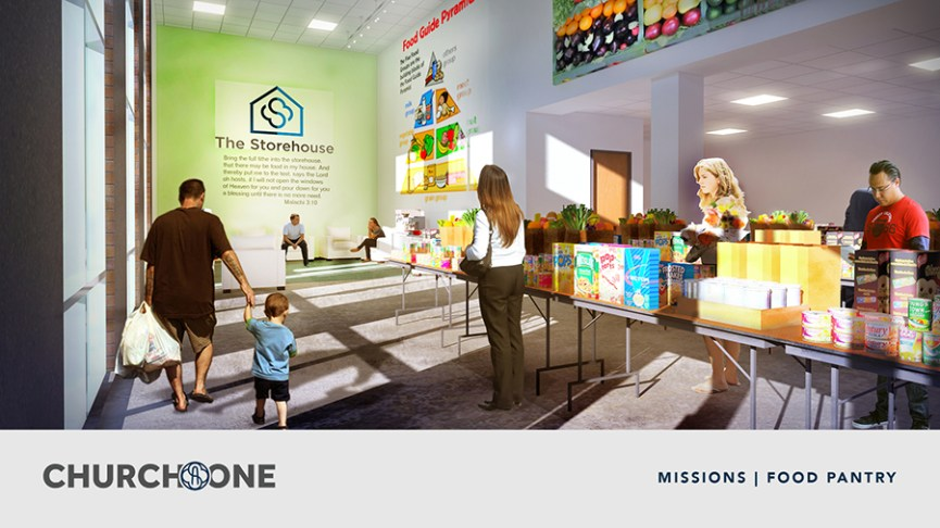 Missions Food Pantry