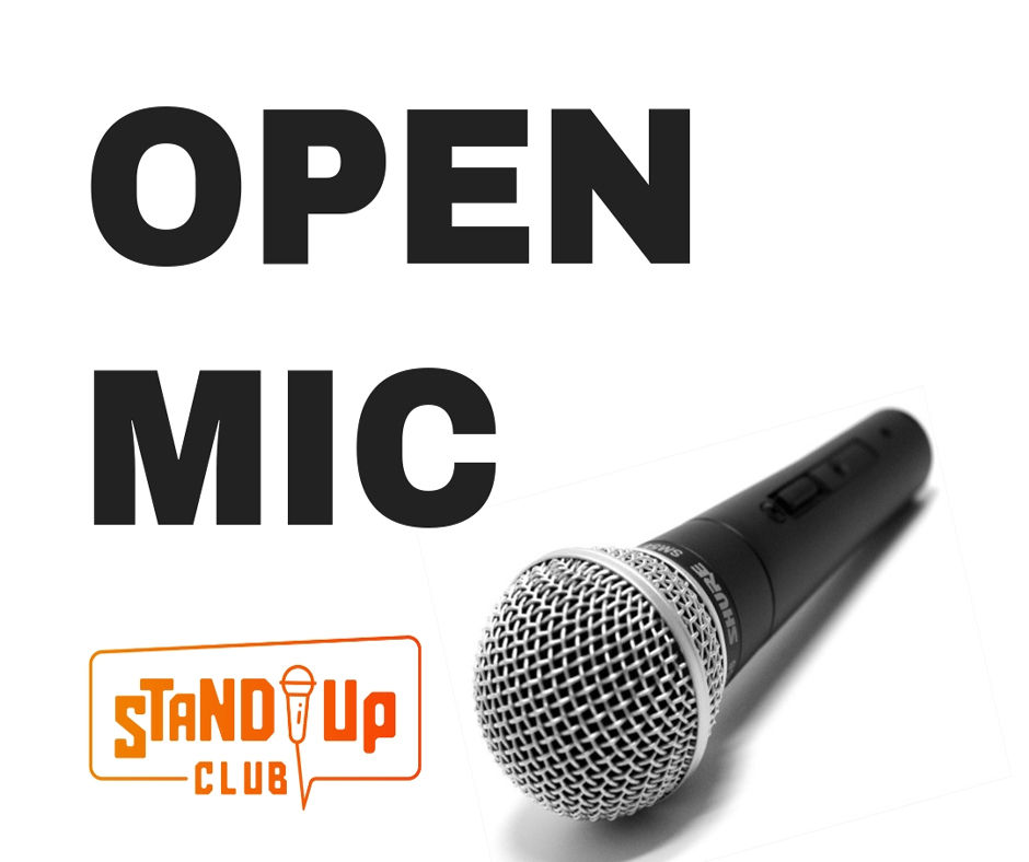 Open Mic del Stand Up Club