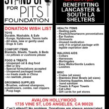 HELP LOS ANGELES SHELTER ANIMALS NOV 5th!!