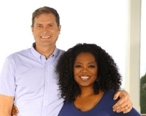 Rob Bell and Oprah Winfrey