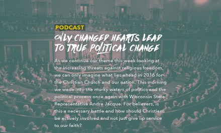 Only Changed Hearts Lead to True Political Change
