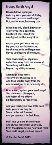 PAS - Alienated Parent Poem AFLA Blog 2016