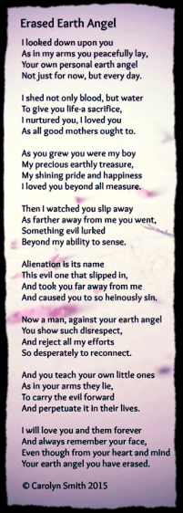 PAS - Alienated Parent Poem AFLA Blog 2016