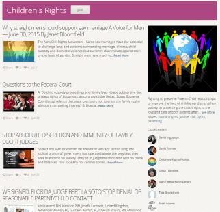Causes - Children's Rights - 2015