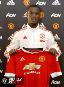 Bailly after signing