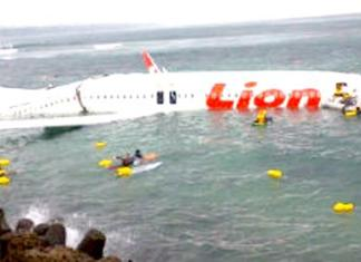 Bali Plane Crash Rescue