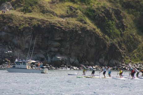 Start of Race - Honolua Bay