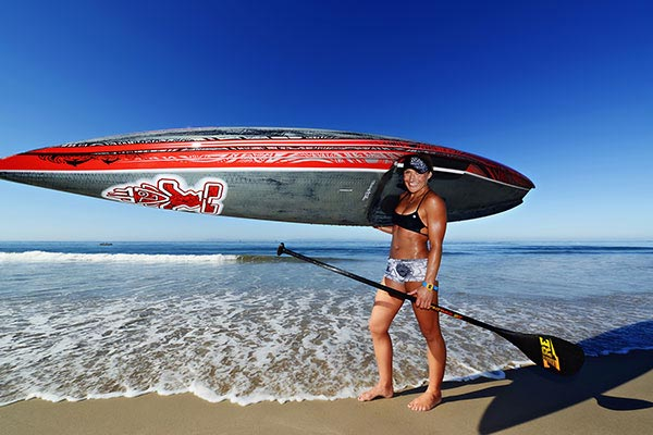 The Woman of Standup Paddling 13