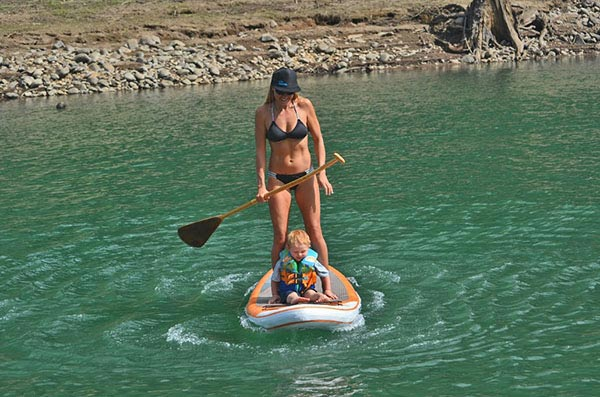 The Woman of Standup Paddling 22