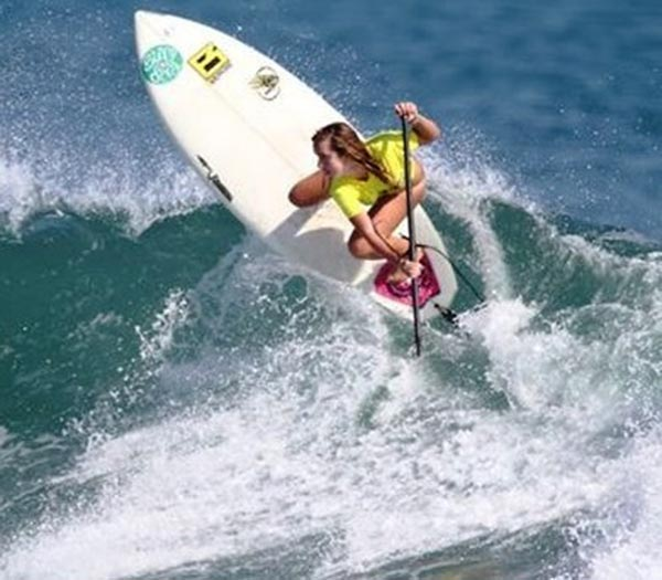 The Woman of Standup Paddling 27