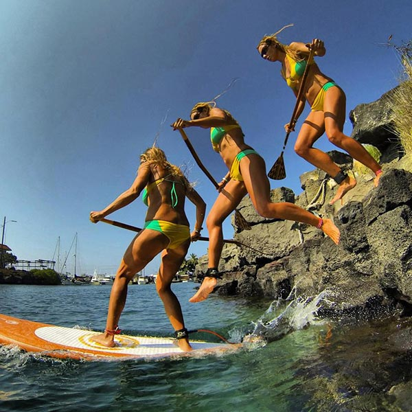 The Woman of Standup Paddling 35