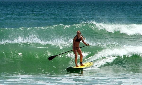 The Woman of Standup Paddling 51